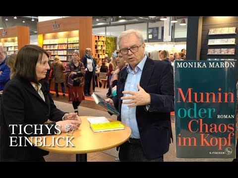 """Monika Maron über ihren Erfolgsroman """"Munin oder Chaos im Kopf"""""""