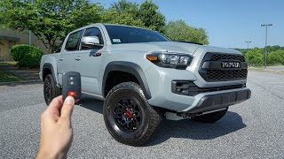 2017 Toyota Tacoma TRD PRO: Start Up, Exhaust, Test Drive, CRAWL and Review