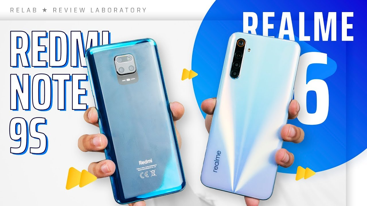 Redmi Note 9S so kèo Realme 6 - VUA TẦM TRUNG 2020 là..