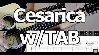 Cesarica  - guitar cover lesson w/TAB