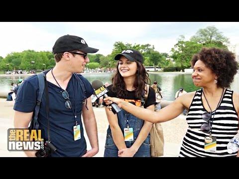 Sofia Black-D'Elia: People's Climate March