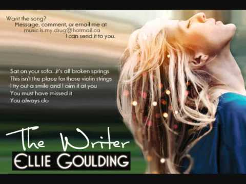 The Writer  Ellie Goulding  Lyrics & Download