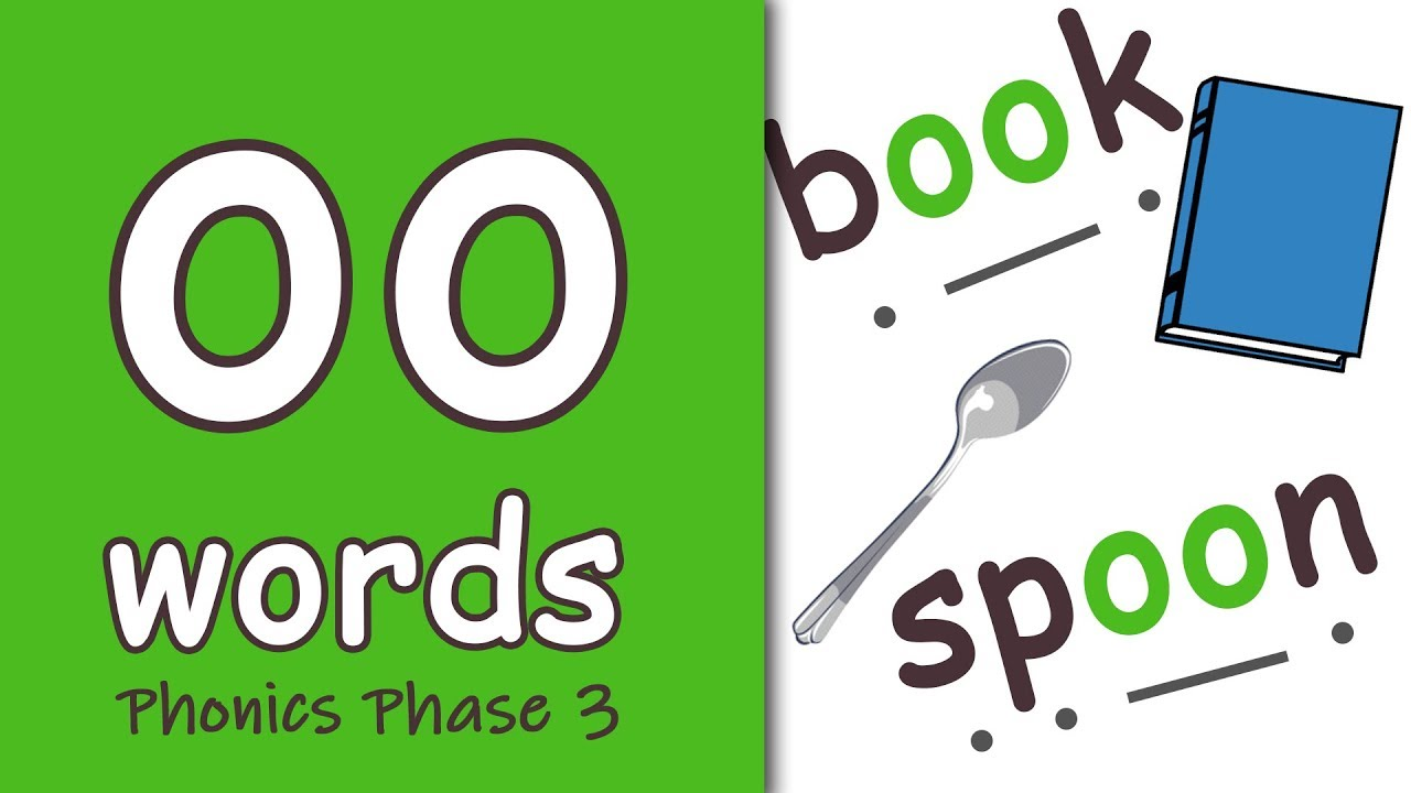 Download 'oo' Words | Blending Phonics Phase 3