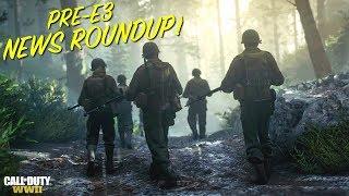 Call Of Duty: World War 2 PRE-E3 News RoundUp! BETA, Headquarters, War, Emotional Campaign & More!
