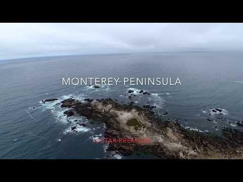 Big Sur Drone Footage X-Star Premium