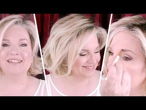 Old HOLLYWOOD Inspired Classy Glam MAKEUP TUTORIAL For MATURE SKIN  / Date Night Makeup