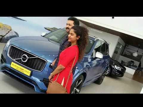 Actor Indrajith's & Poornima New  Volvo XC 90 Luxury SUV