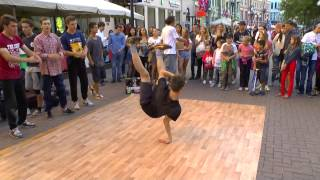 Арбат.Брейк данс.street dance.breaking ru.music city.город
