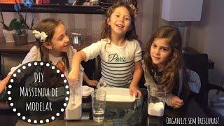 Como fazer Massinha de modelar em casa - by minha filha Alice | Organize sem Frescuras!