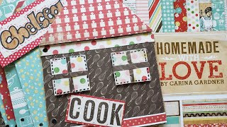 ♥️LIVE Mindless Crafting | House Recipe Book - Part 1