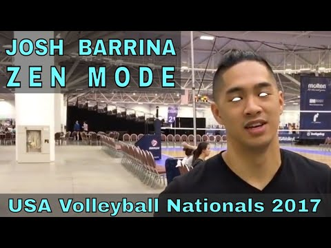 Josh Barrina Volleyball Highlights - USAV Adult National Championships 2017