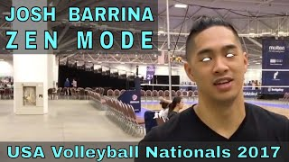 Josh Barrina Volleyball Highlights - USAV Adult National Championships 2017