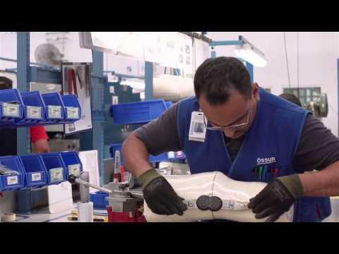 Ossur Custom CTI Knee Brace - How It's Made | DME-Direct.com