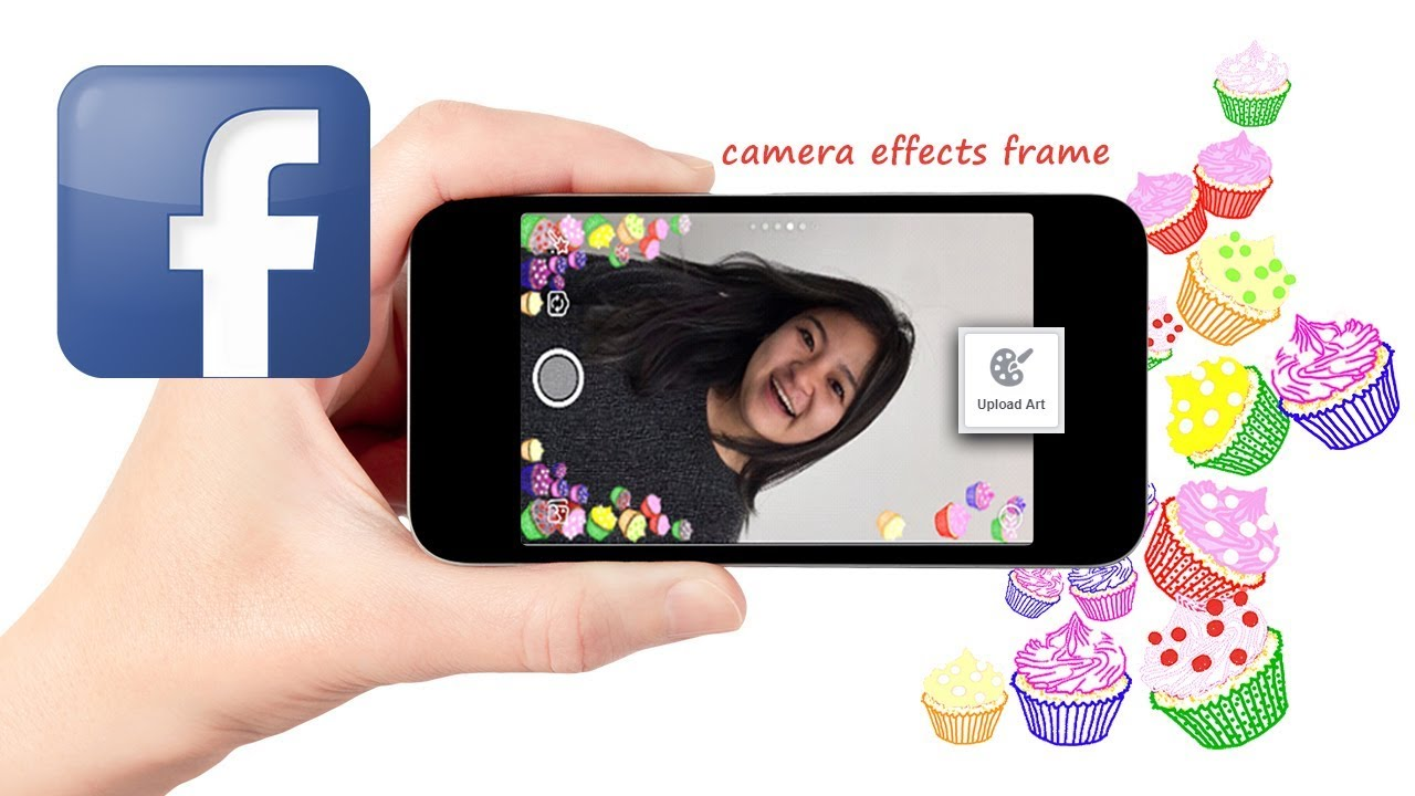how to use facebook camera effects platform to create frames - YouTube