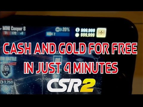 CSR Racing 2 Mod Apk | iOS & Android | Free Gold and Cash