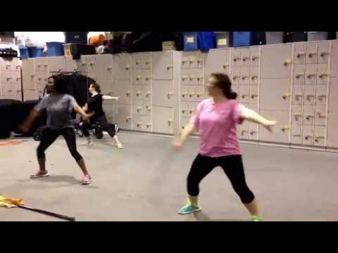 """Tyler Junior College Touch of Gold """"Lips Are Movin"""" Practice Video"""