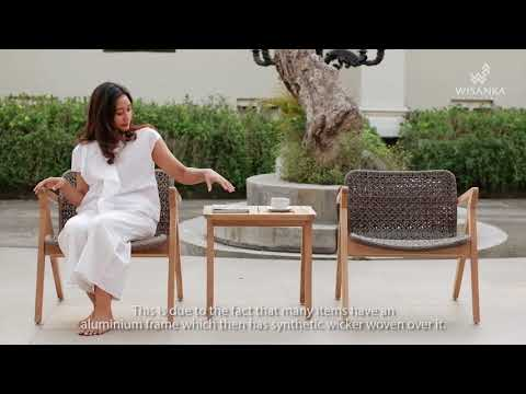 Odessa Balcony Set | Teak Balcony Furniture