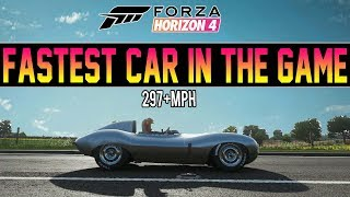 Forza Horizon 4 - FASTEST CAR IN THE GAME!!! *297+MPH*