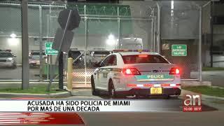 Arrestan a sargento de policía de Miami por supuesta violencia domestica