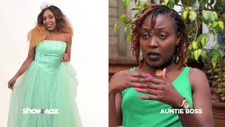 Nice Wanjeri on playing the clueless, mischievous house help on Auntie Boss | Showmax Kenya
