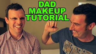 Dad Makeup Tutorial w/ Eh Bee Family