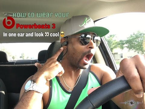 beats-audio-powerbeats-3-hacks-|-how-to-wear-powerbeats-headphones-in-one-ear-|-powerbeats3-review