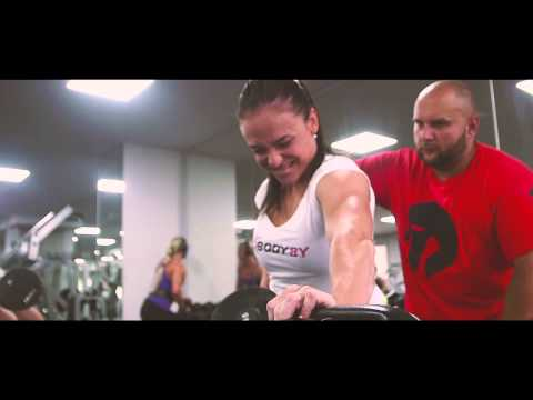 Joe Weiders Olympia Amateur Winner Daniela Beckova & Sabina Kaderkova - Back Workout 2015