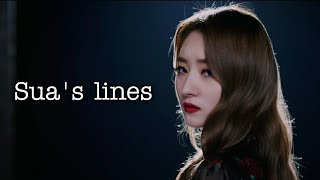 Download Every dreamcatcher title track except it's only sua's lines