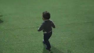 البيبي ريان اول مره يمشي واول مسافه كبيره كيوت اوي