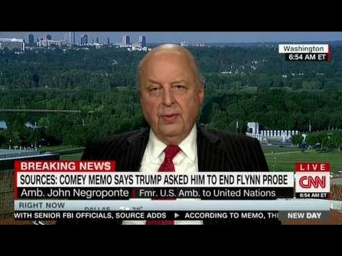JOHN NEGROPONTE FULL EXPLOSIVE INTERVIEW WITH ALISYN CAMEROTA - NEW DAY (5/17/2017) .