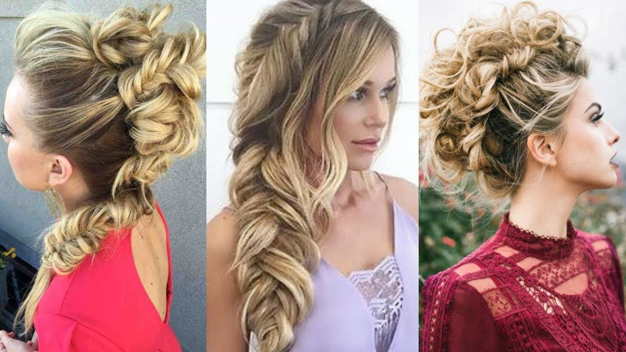 All Of The Hottest 2019 Prom Hair Trends You Need To Know Youtube