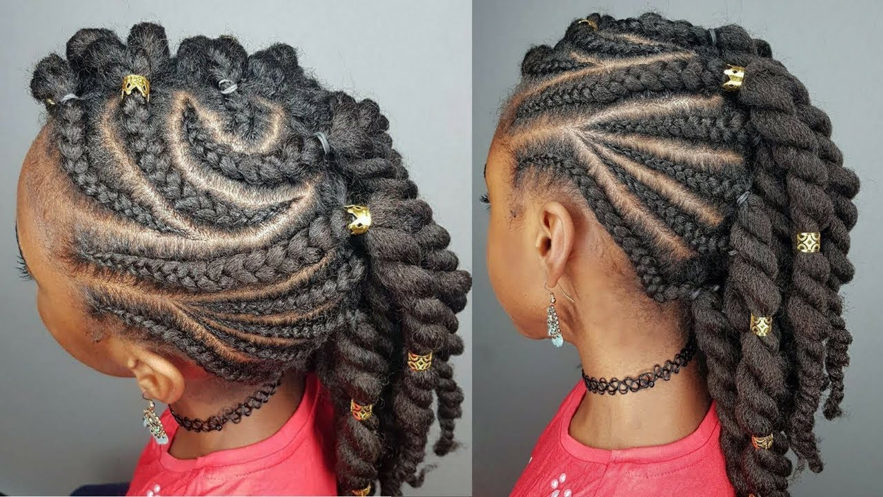 Side Braids Twists Hairstyles For