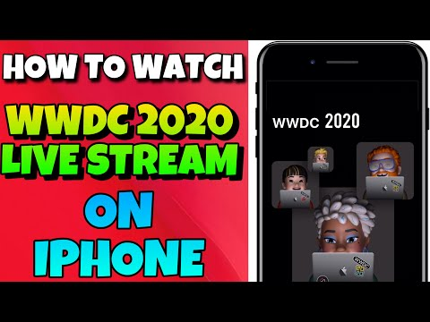 How to Watch WWDC 2020 Live Stream on iPhone and iPad I WWDC 2020 event keynote live stream I WWDC20