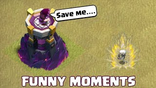 Clash of Clans Funny Moments Montage | COC Glitches, Fails, Wins, and Troll Compilation #44
