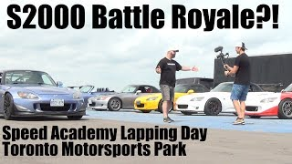 S2000 Battle Royale?! Speed Academy Lapping Day at TMP
