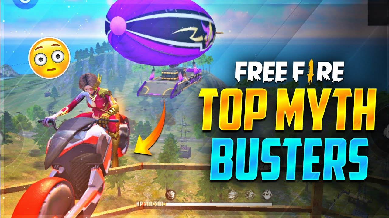 Top Myth Busters In Free Fire Tamil