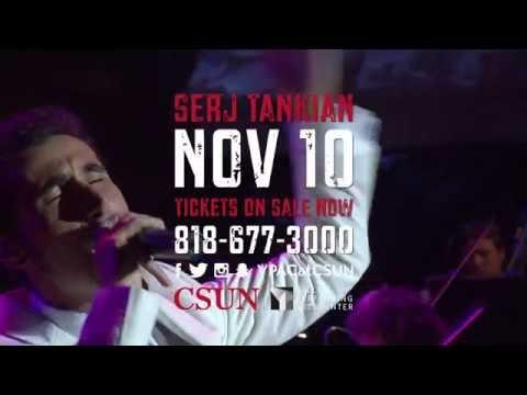 Serj Tankian And The CSUN Symphony - Coming November 10, 2016