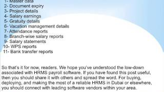 Online hrms software - saifee computers