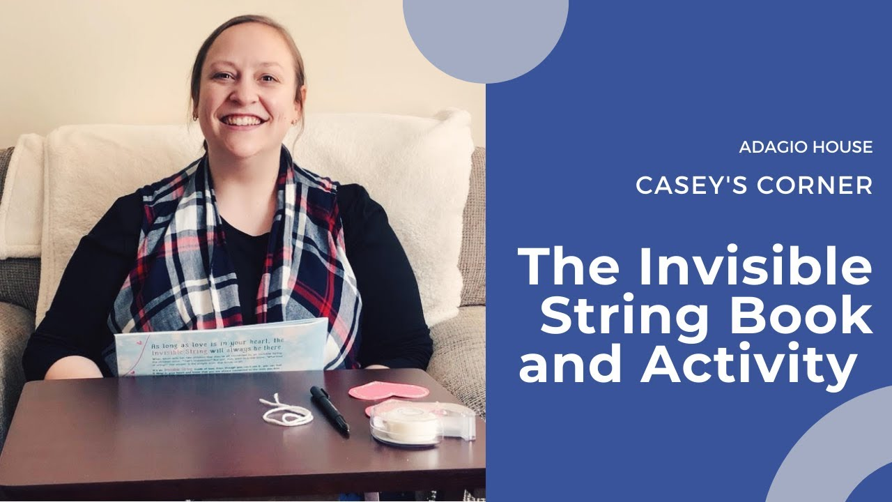 Casey's Corner - Invisible String Book and Activity