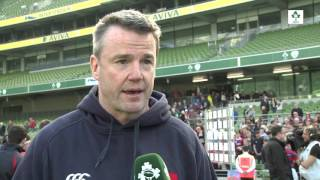 irish rugby tv clontarf s andy wood on winning the ulster bank league