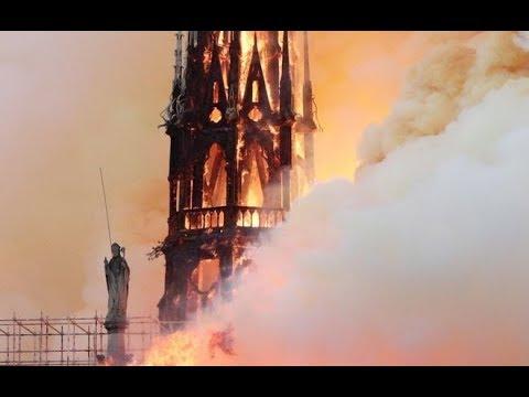 كيف تبدو كاتدرائية نوتردام من الداخل بعد الحريق