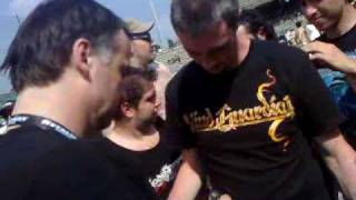 Gods Of Metal 2009: meet and greet Blind Guardian