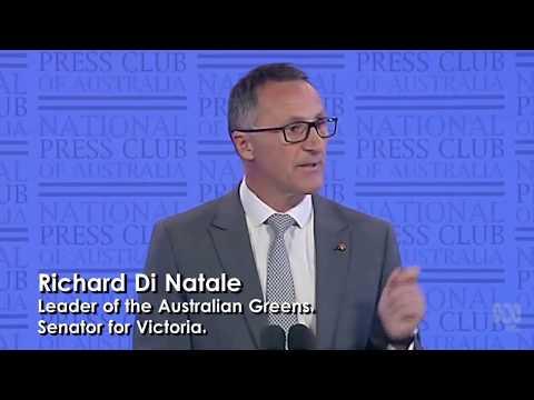 UBI Supporter : Richard Di Natale | Leader of the Australian Greens