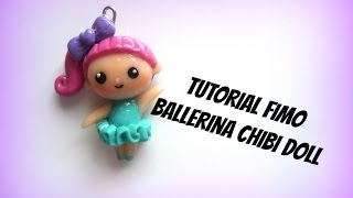 chibi doll ballerina fimo tutorial- Polymerclay chibi dancer