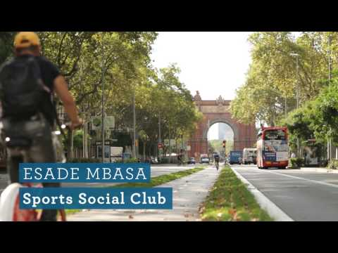 The ESADE MBA: MBASA - Sports Social Club