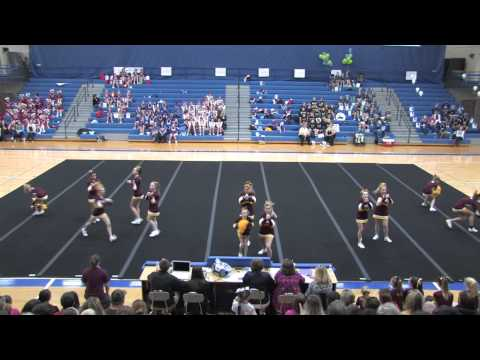 2014 03 15  Garrard Middle School  -  Salt River Cheer Competition