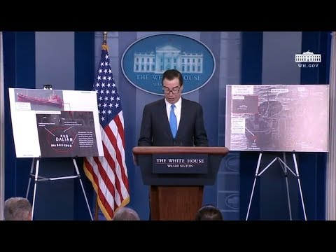 Briefing on North Korea Sanctions