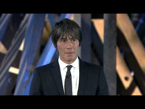 Professor Brian Cox at the launch of the BBC's Charter Review