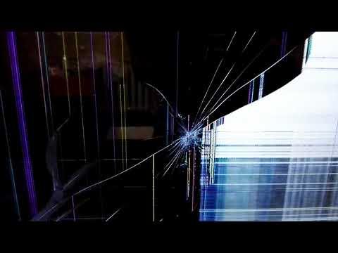 Ребенок пультом треснул экран телевизора Samsung UE55F8000AT