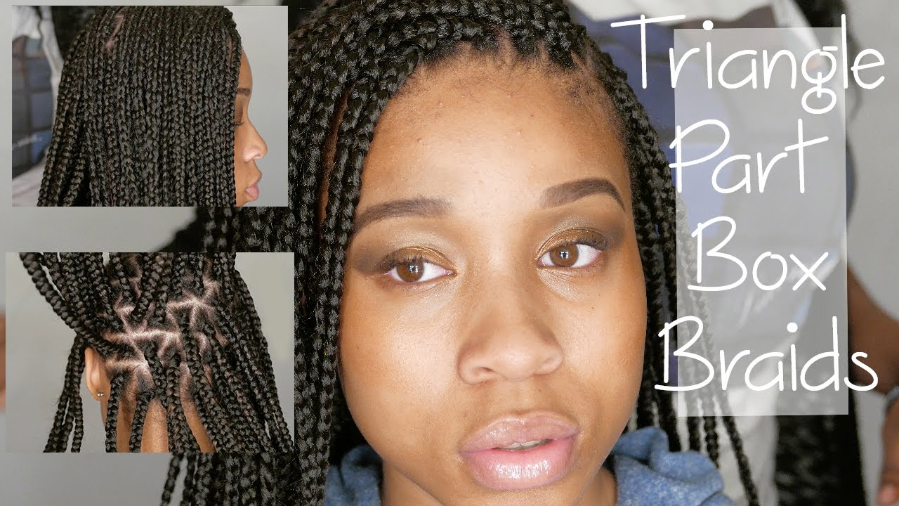 Triangle Part Poetic Justice Box Braids Youtube